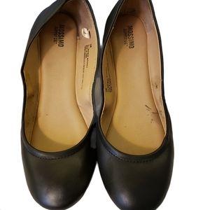 2/$20 Mossimo Black Ballet Flats, 9W